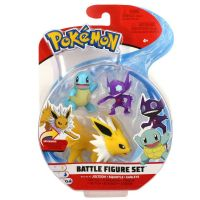 Pokemon Battle Figure Set: Jolteon & Sqirtle & Sableye